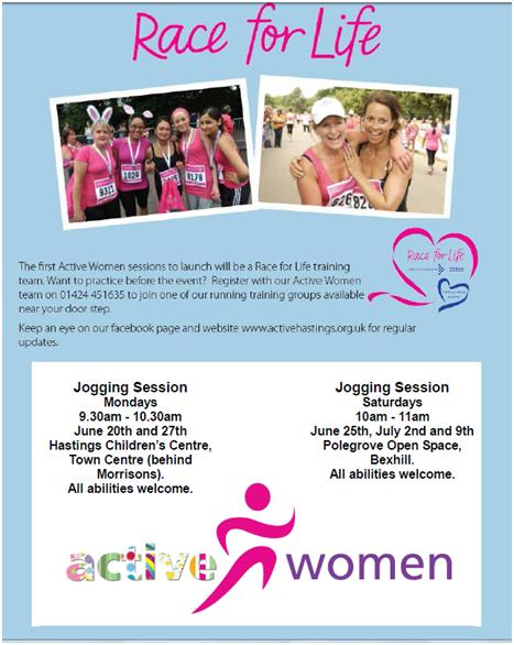 Race for life groups